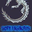 The Circular White Sea Wyvern by drakenwrath