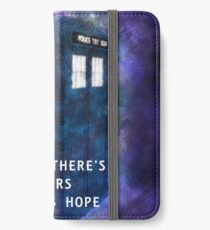 Where There's Tears There's Hope iPhone Wallet/Case/Skin