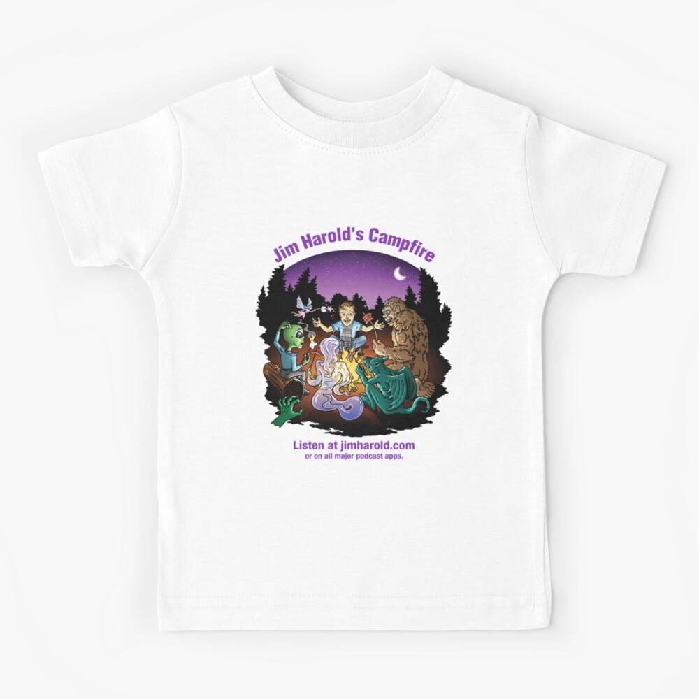Around The Campfire - Clothing Kids T-Shirt