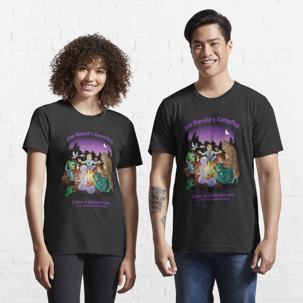 Around The Campfire - Clothing Essential T-Shirt