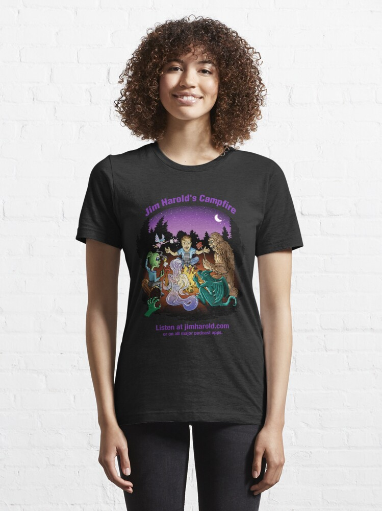 Alternate view of Around The Campfire - Clothing Essential T-Shirt