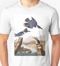 Belted Kingfishers by John James Audubon Unisex T-Shirt