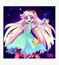 Star Butterfly Photographic Print