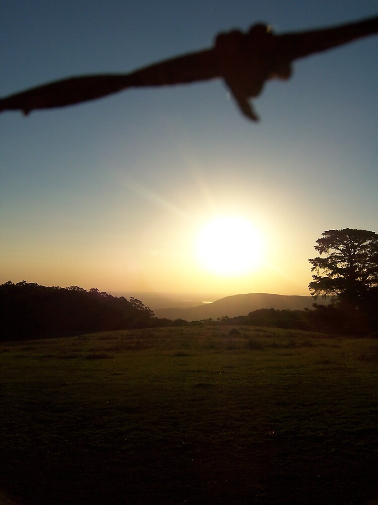 End of another beautiful day by xeba