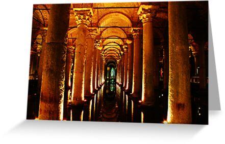 Basilica Cistern, Istanbul by Josh Wentz