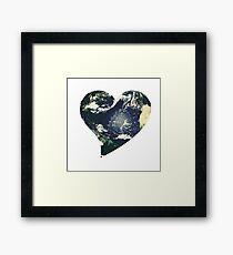 Earth Love Framed Print