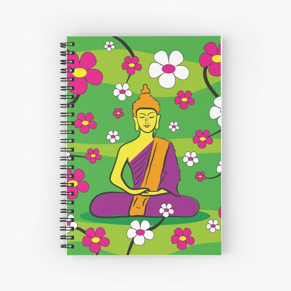 Buddha Spiralblock