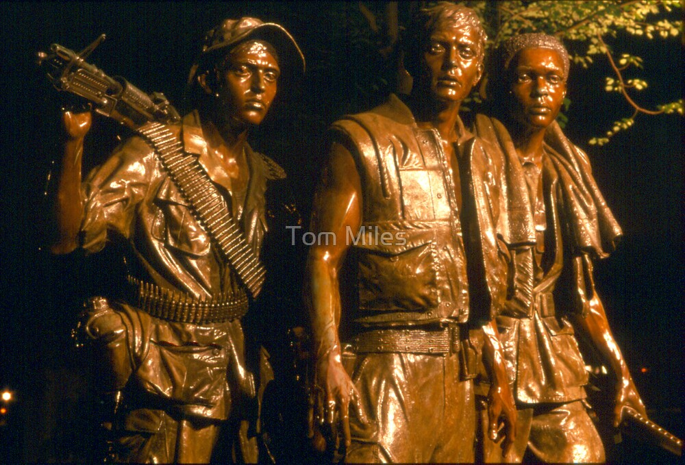 Vietnam Memorial by Tom Miles