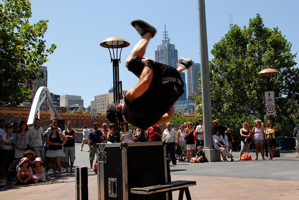 Street performer by matt mackay