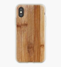 Bamboo Texture iPhone Case