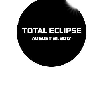 2017 Solar Eclipse Astronomy T-Shirt by jgmorga3