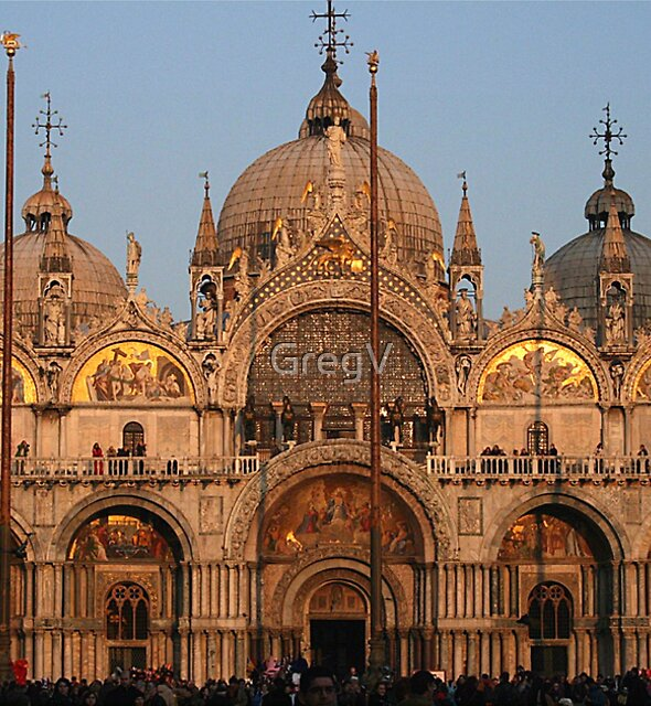 Venezia 2007_Tramonto sulla Basilica by GregV