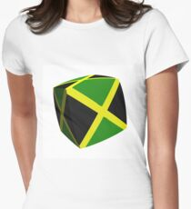 Jamaica in a box Women's Fitted T-Shirt
