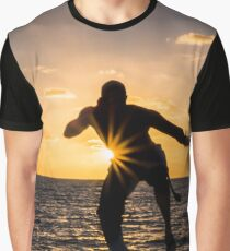 Capoeira Silhouette Graphic T-Shirt