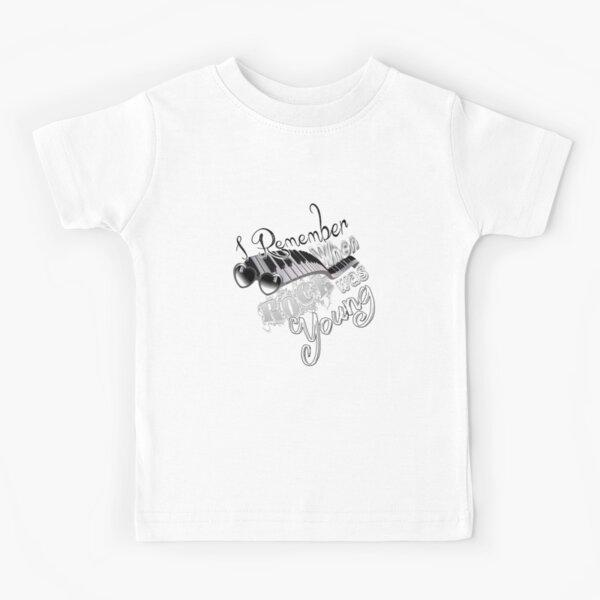 I remember when.... Kids T-Shirt