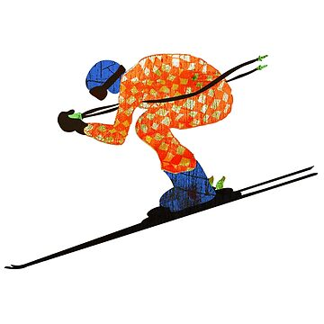 Alpine Skier by louweasely