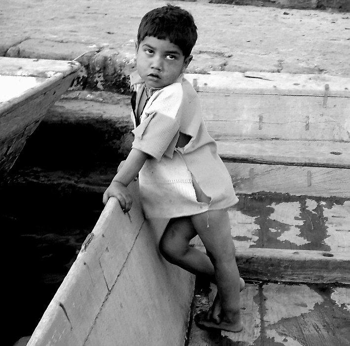 The boatman's son by nisheedhi