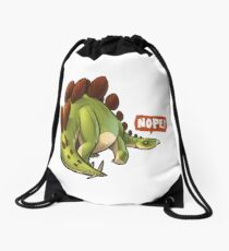 NOPE! Drawstring Bag