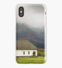 Church just outside Bohinjska Bistrica iPhone Case/Skin