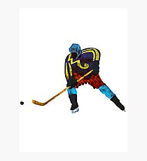 Ice Hockey Photographic Print
