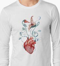 Pink Floyd Flowers | Watercolor painting | Rock fan art T-Shirt