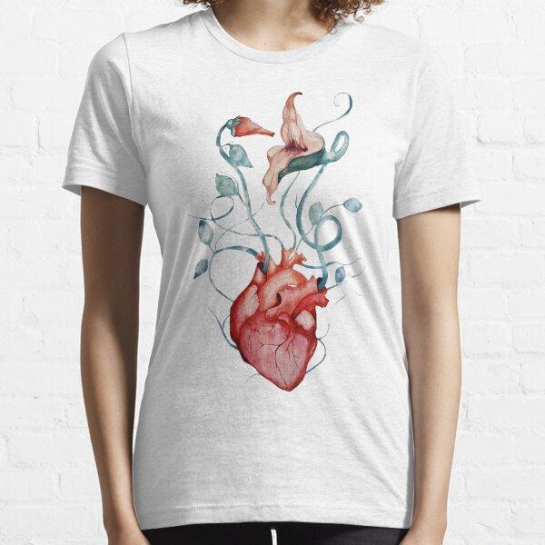 Pink Floyd Flowers | Watercolor painting | Rock fan art Essential T-Shirt