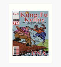 Kendrick Lamar - DNA Alternative Cover Art Print