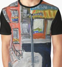 Fontaine's Fish Market, Greenwich Village, NYC, 1956 Graphic T-Shirt