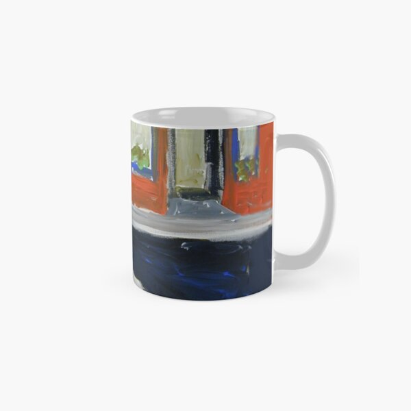 Fontaine's Fish Market, Greenwich Village, NYC, 1956 Classic Mug