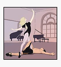 Ballet dancers  Photographic Print