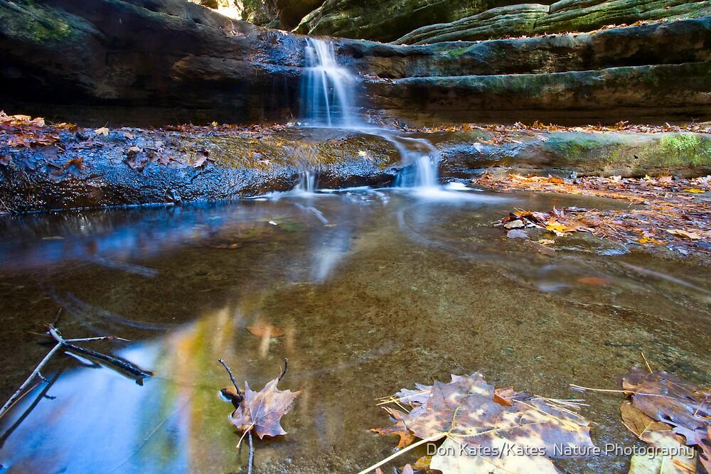 Waterfall by Don Kates/Kates  Nature Photography