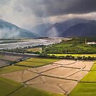 Taitung county Taiwan from the air by grorr76