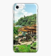 Pangkor Temples. iPhone Case/Skin