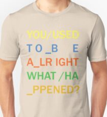 RADIOHEAD - IN RAINBOWS Unisex T-Shirt