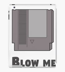 Blow me console iPad Case/Skin