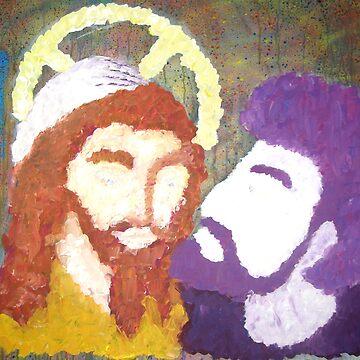 The Kiss of Judas by superam23