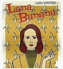 lana winters - lana banana // american horror story asylum Poster