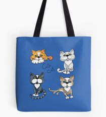 Set of cats Tote Bag