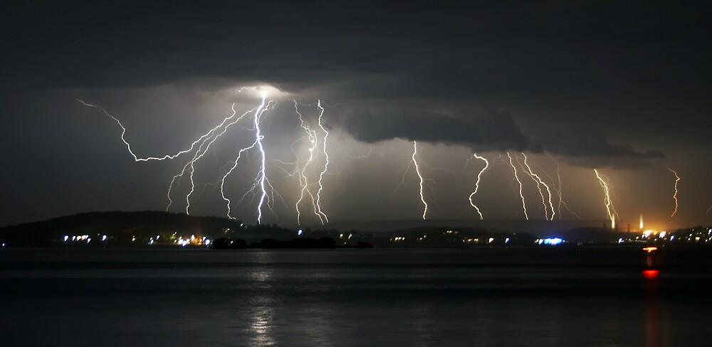 Lightning by Steve D