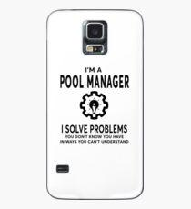 POOL MANAGER BEST DESIGN 2017 Hülle & Klebefolie für Samsung Galaxy
