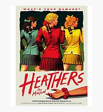 Heathers: The Musical Photographic Print