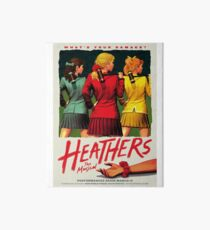 Heathers: The Musical Art Board