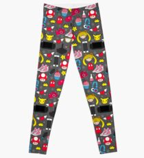 Geek Pattern Leggings