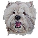West highland white terrier by doggyshop