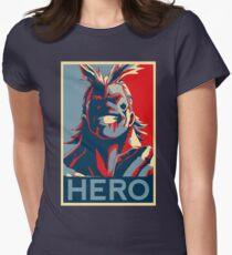 My Hero Academia - HERO!! Womens Fitted T-Shirt