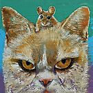 Cat and Mouse by Michael Creese