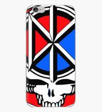 Dead kennedys skull tee iPhone Case
