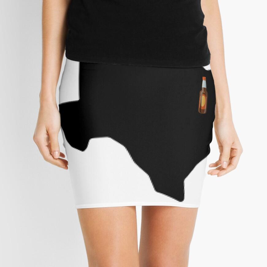Dallas Texas Beer Mini Skirt
