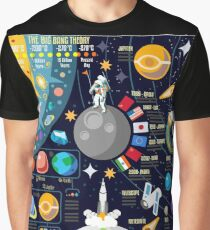 Space Universe Infographics Big Bang Graphic T-Shirt
