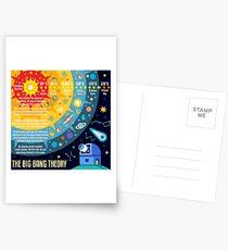 Big Bang Theory Universe Space Postcards